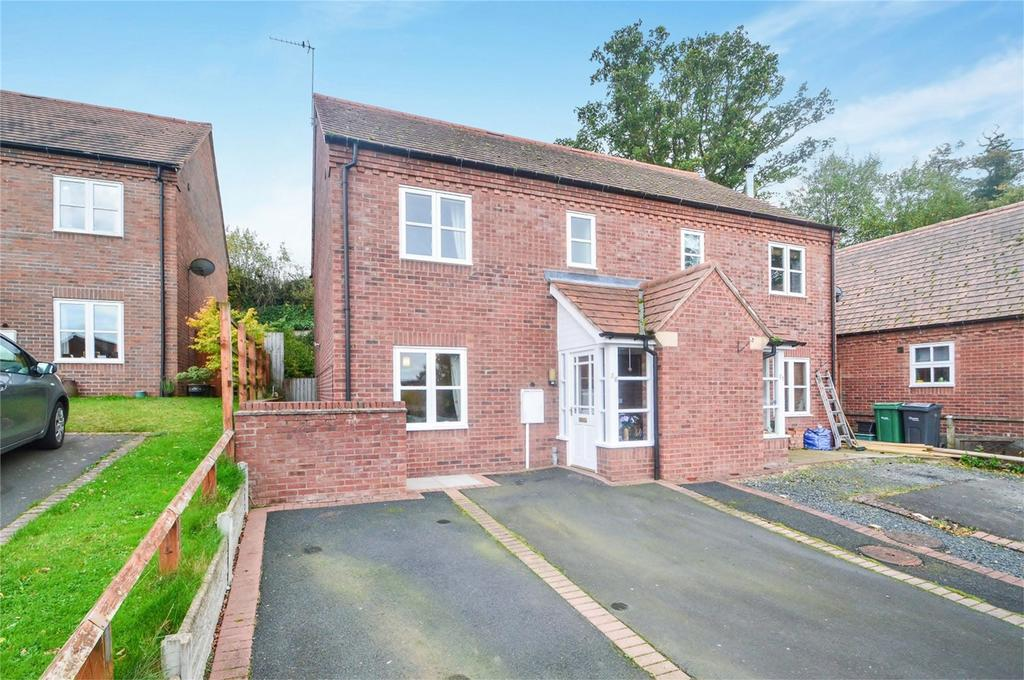 3 Bedrooms Semi Detached House for sale in Whitcomb's Orchard, Cleobury Mortimer, Kidderminster, Shropshire
