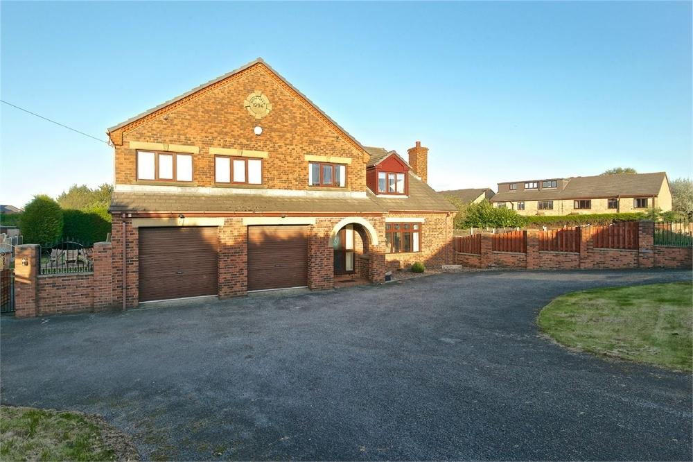 5 Bedrooms Detached House for sale in Homefield, Hodgson Lane, Drighlington, West Yorkshire