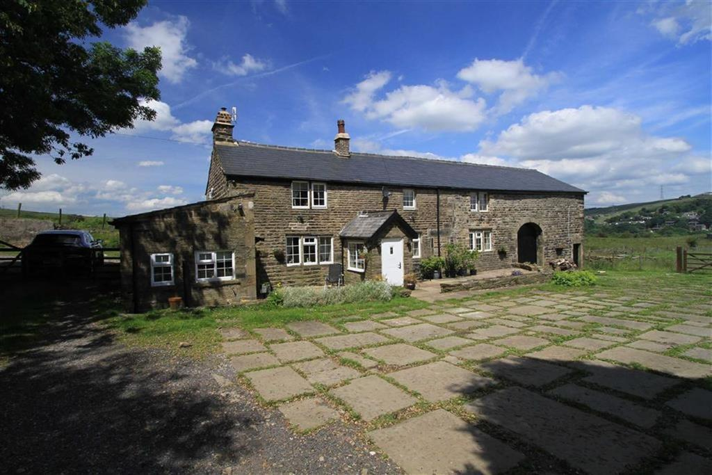 4 Bedrooms Detached House for sale in Higher Dunishbooth Farm, Knacks Lane, Prickshaw, Rochdale, OL12