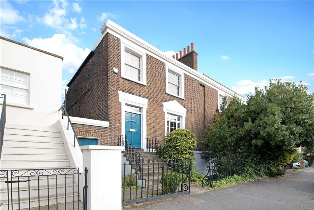 4 Bedrooms Semi Detached House for sale in Stamford Road, Islington, London, N1