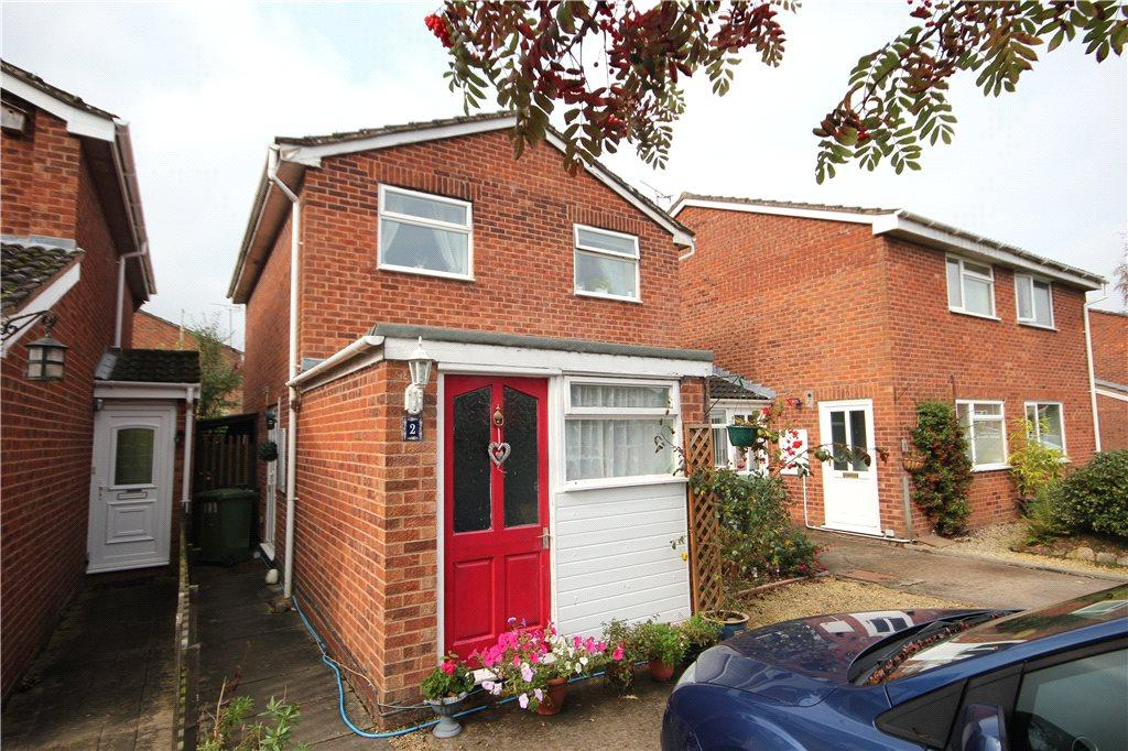 3 Bedrooms Link Detached House for sale in Burdon Drive, Bartestree, Hereford, HR1