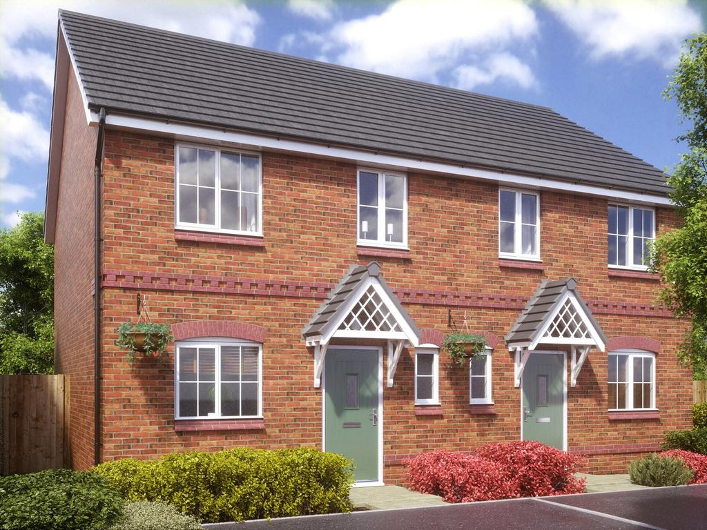3 Bedrooms Semi Detached House for rent in Liberty Close, Baytree Lane, Middleton, Manchester M24