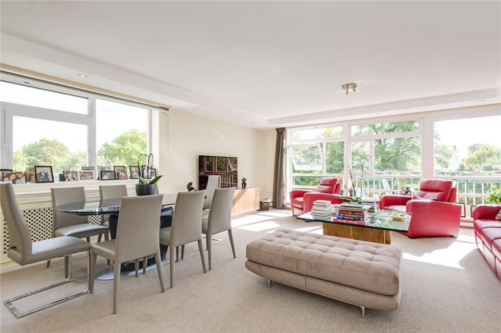 3 Bedrooms Flat for sale in Walsingham, Queensmead, St John's Wood, London, NW8