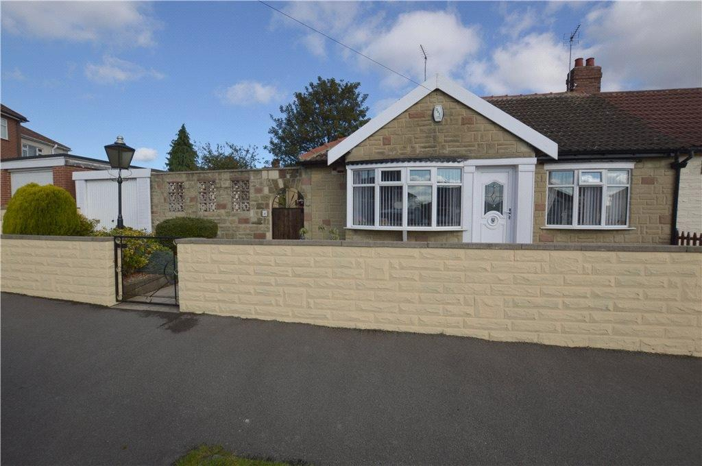 2 Bedrooms Semi Detached Bungalow for sale in Moor Avenue, Off Templenewsam Road, Leeds