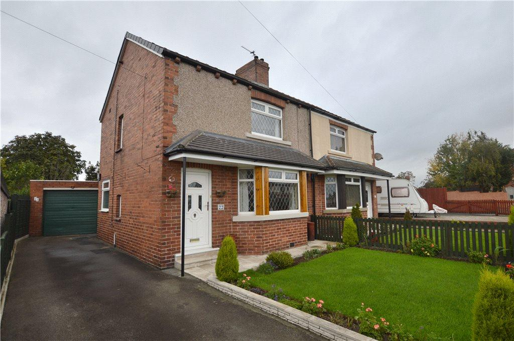 2 Bedrooms Semi Detached House for sale in Hillcrest Avenue, Ossett, West Yorkshire