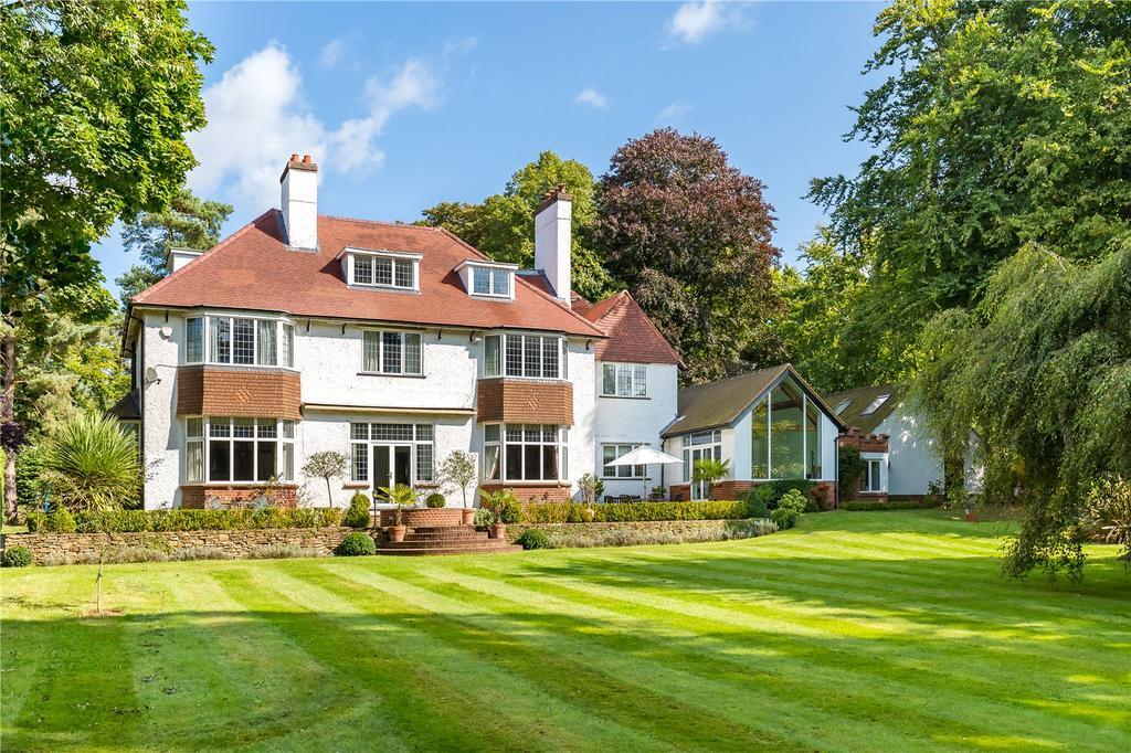 6 Bedrooms Detached House for sale in Hurtmore Road, Hurtmore, Godalming, Surrey