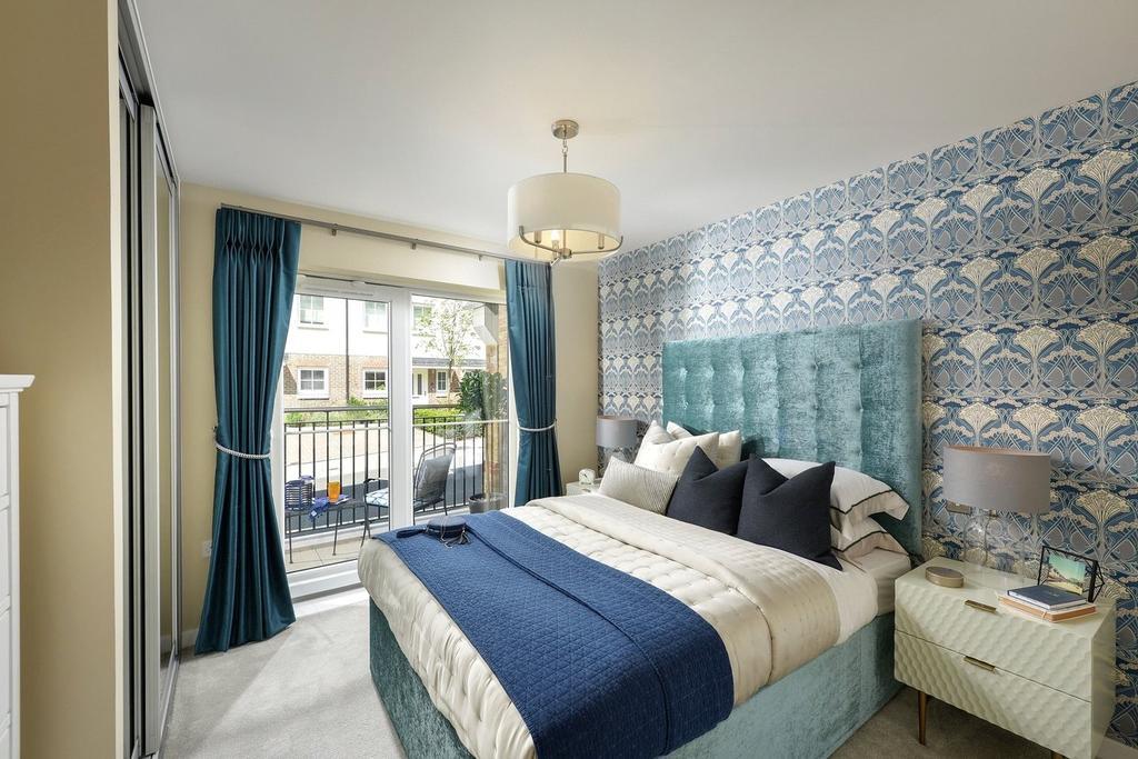 2 Bedrooms Flat for sale in Ryewood, Sevenoaks, Kent, TN14