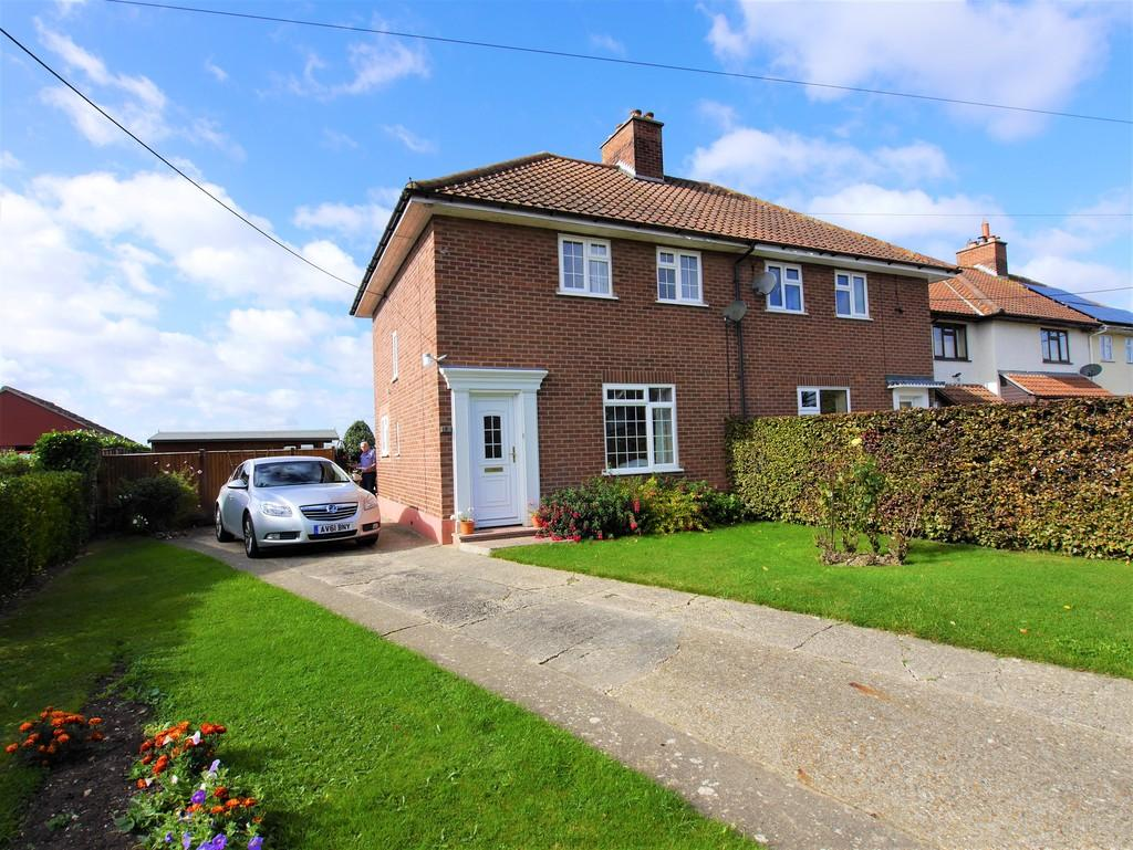 3 Bedrooms Semi Detached House for sale in 8 Groton Street, Edwardstone, Sudbury, Suffolk, CO10 5EE
