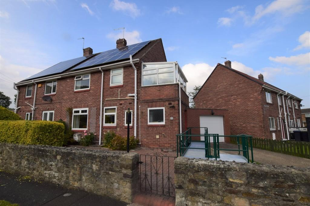 3 Bedrooms Semi Detached House for sale in Leith Gardens, Tanfield Lea, Stanley