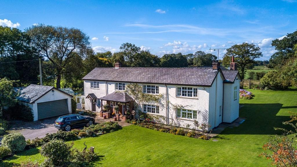 6 Bedrooms Detached House for sale in Well House Farm, Duddon, CW6 0HG