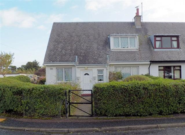 3 Bedrooms Semi Detached House for sale in 11 Broomhill, Bowmore, Isle of Islay, PA43 7HX