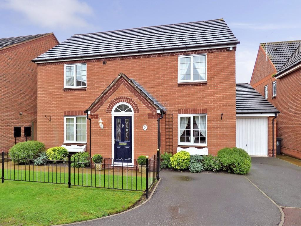 4 Bedrooms Detached House for sale in Webb Close, Fradley, Lichfield