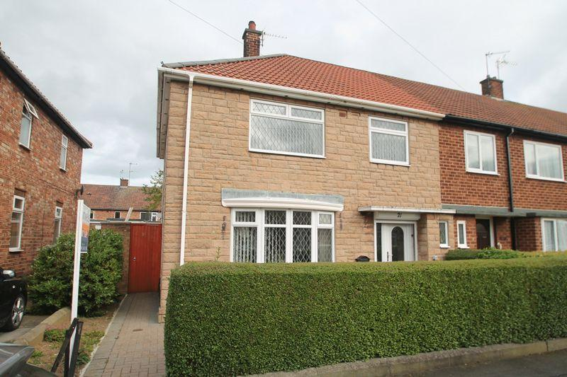 3 Bedrooms End Of Terrace House for sale in Arundel Road, Billingham