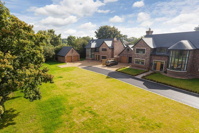 5 Bedrooms Detached House for sale in Four superb brand new houses at Lach Dennis, nr Lower Peover