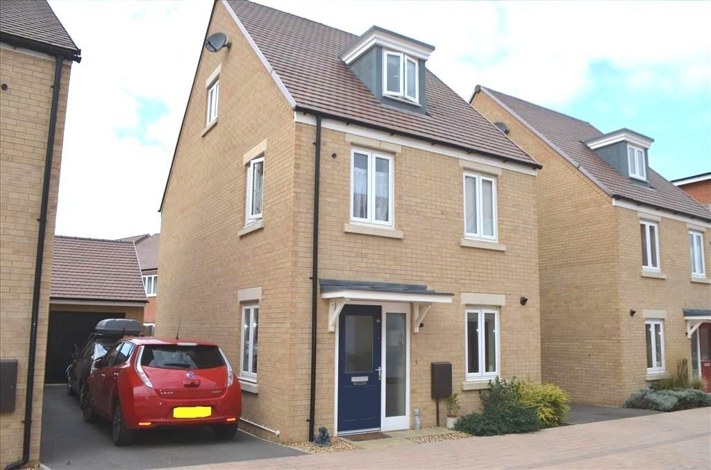 3 Bedrooms Detached House for sale in Whittle Drive, Biggleswade, Beds, SG18