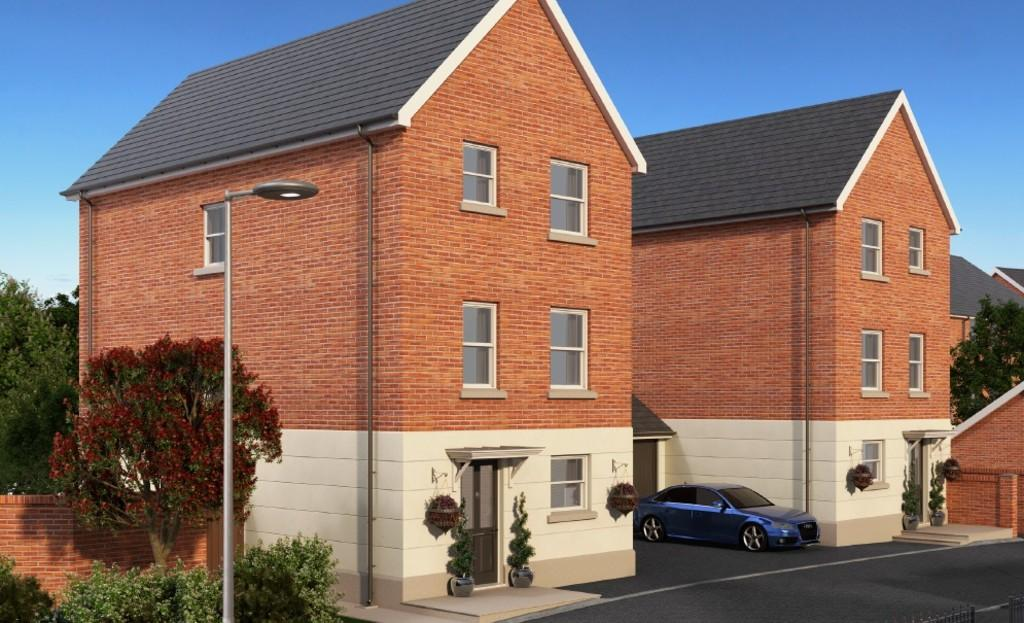 4 Bedrooms Detached House for sale in Plot 27, The Harry, Elmfield Way, Kingsteignton, Newton Abbot