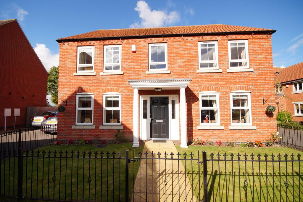 4 Bedrooms Detached House for sale in Marriner Crescent, Lincoln