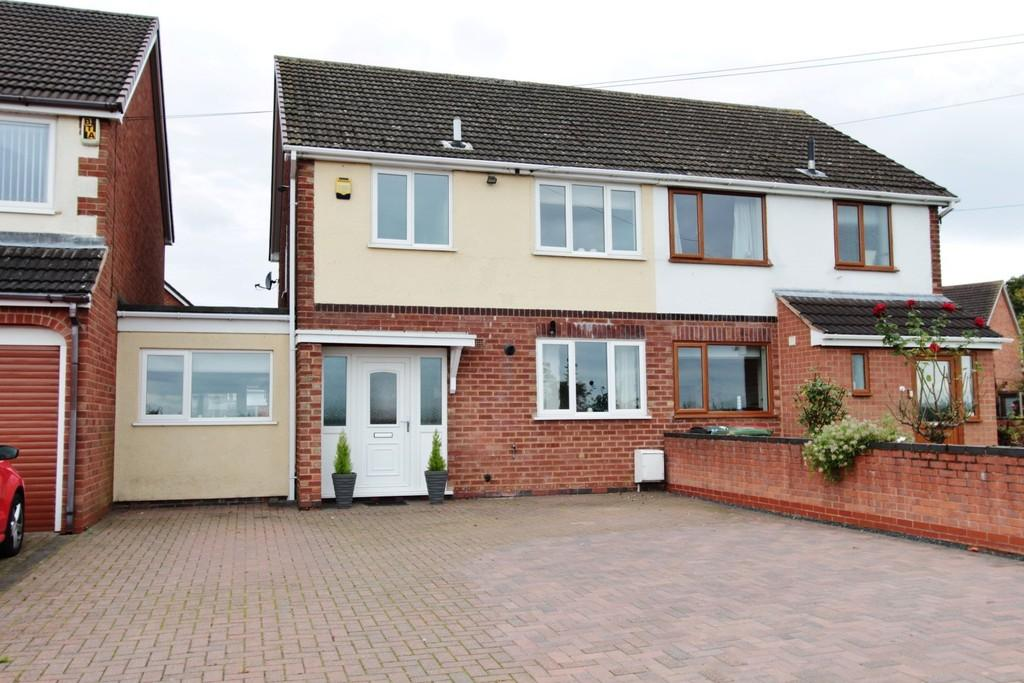 3 Bedrooms Semi Detached House for sale in New Road, Shuttington