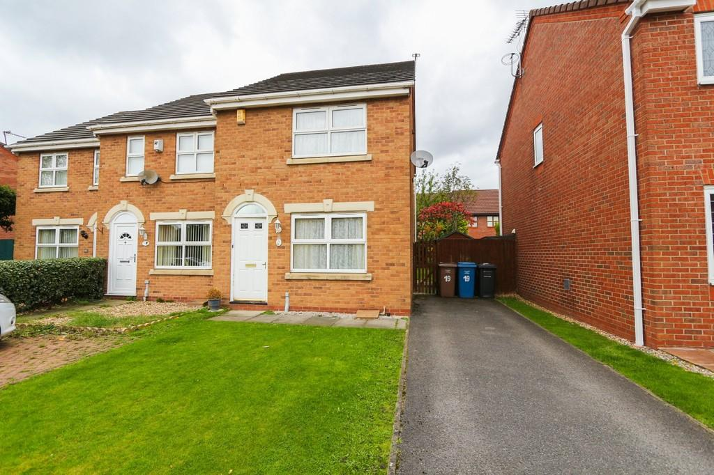 2 Bedrooms End Of Terrace House for sale in 19 Pasturegreen Way