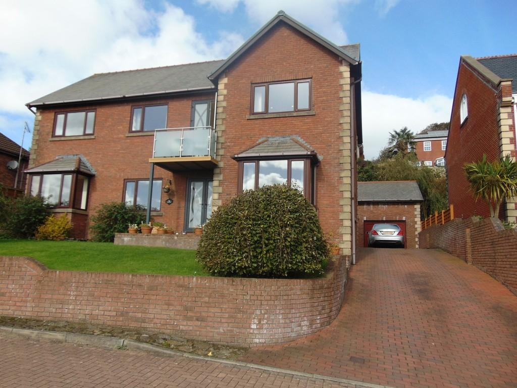 4 Bedrooms Detached House for sale in Ty Magnell, 7 The Dell