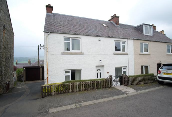 2 Bedrooms Terraced House for sale in 14 Taits Hill, Selkirk, TD7 4LZ