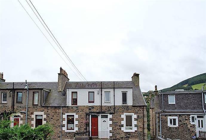 2 Bedrooms Flat for sale in 127 Magdala Terrace, Galashiels, TD1 2HX