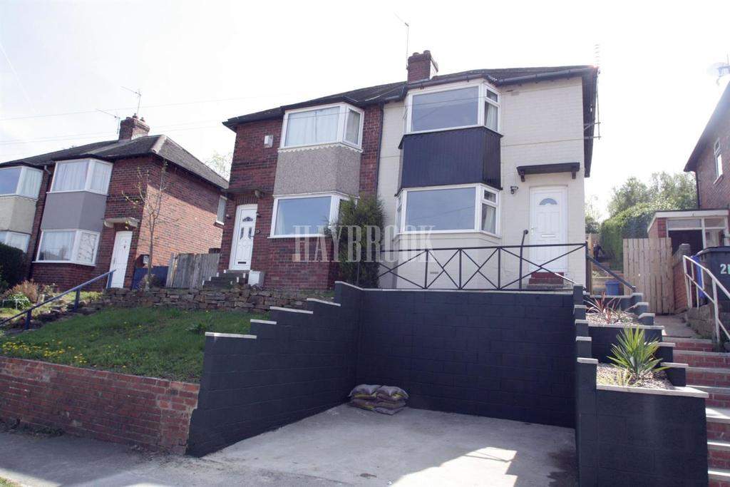 2 Bedrooms Semi Detached House for sale in Wingfield Crescent, Frecheville, S12