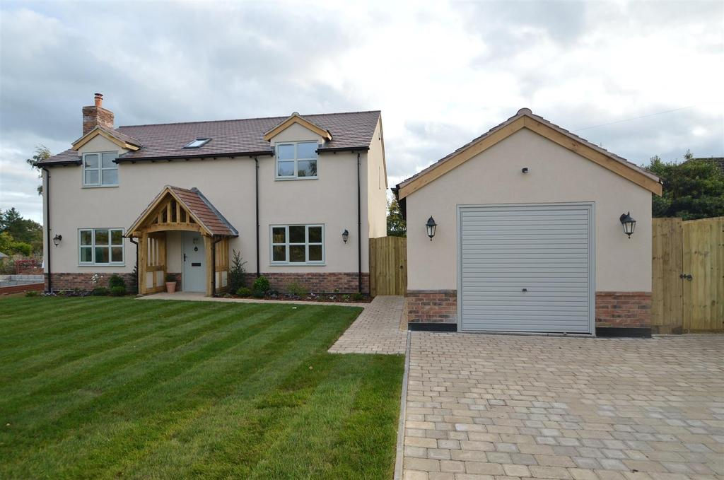 4 Bedrooms Detached House for sale in Croft Cottage, Booley Lane, Stanton Upon Hine Heath SY4 4DY