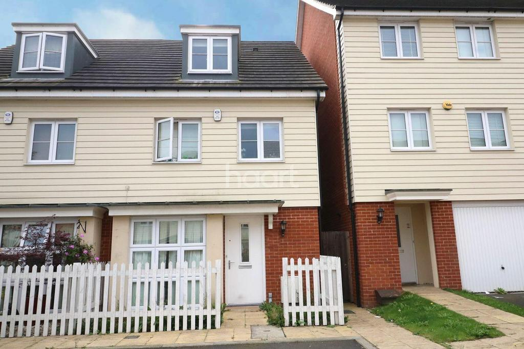 4 Bedrooms Semi Detached House for sale in Kenbury Drive, Berkshire