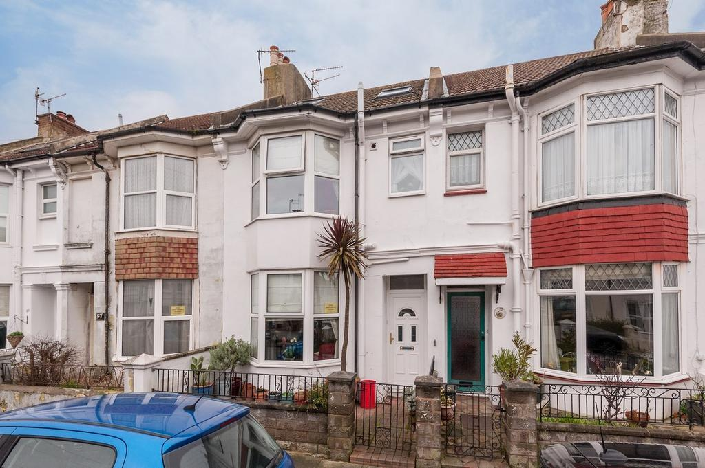 3 Bedrooms Terraced House for sale in Byron Street, Hove BN3