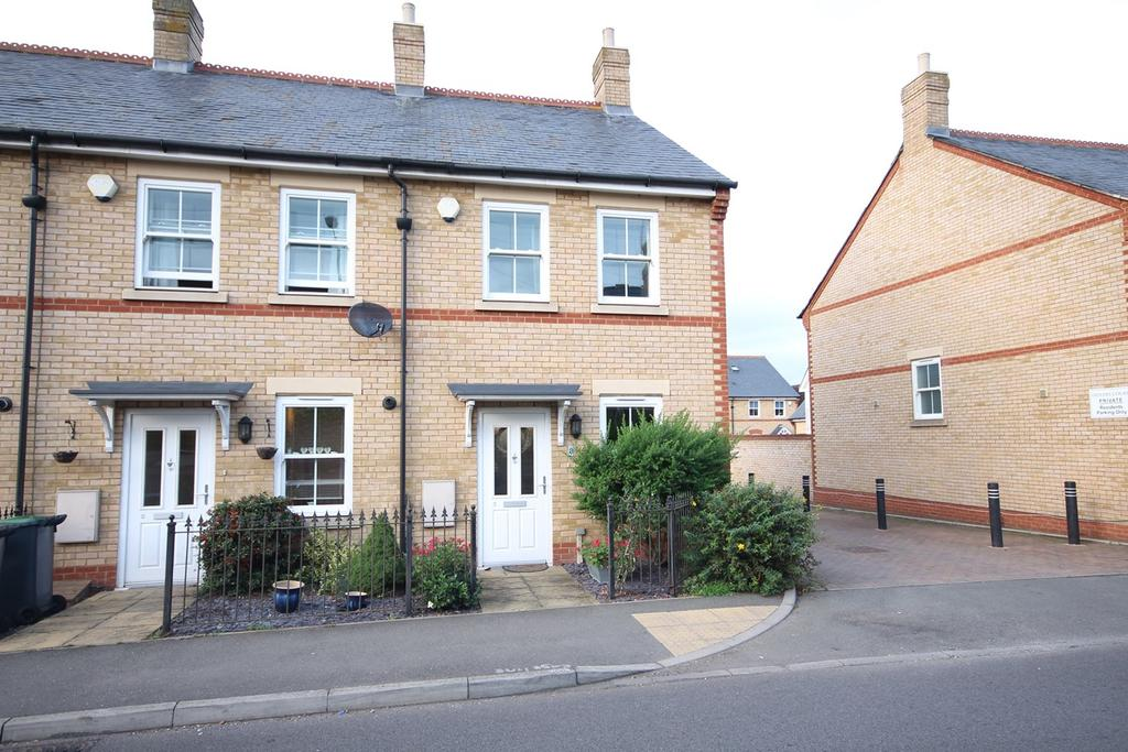 3 Bedrooms End Of Terrace House for sale in Olivers Court, Shefford, SG17