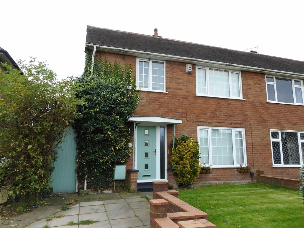 3 Bedrooms Semi Detached House for sale in Windsor Way, Rushall, Walsall