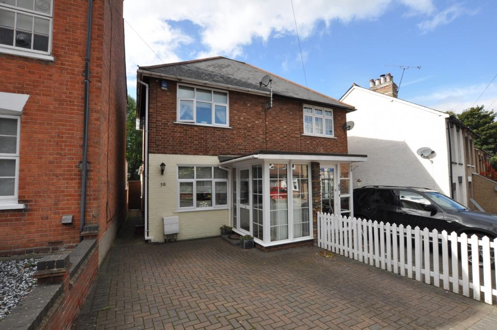 2 Bedrooms Semi Detached House for sale in Weald Road, Brentwood, CM14