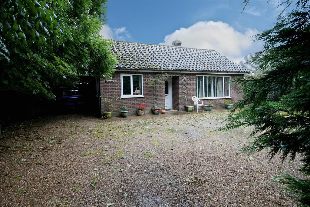 3 Bedrooms Detached Bungalow for sale in Kemah, Saltfleet Road, Theddlethorpe, Mablethorpe