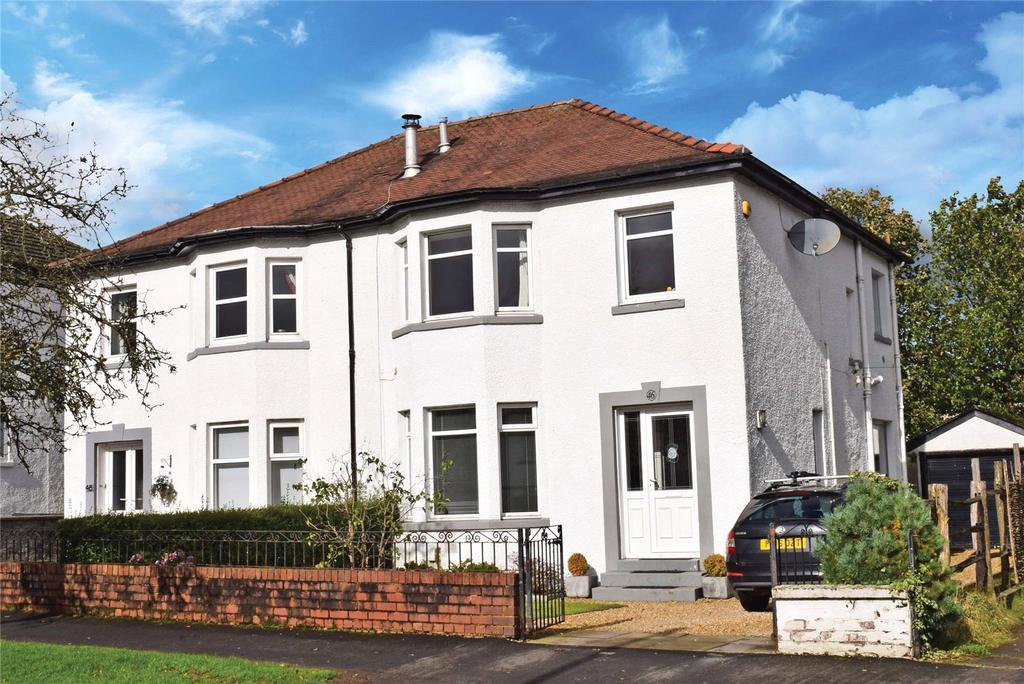 3 Bedrooms Semi Detached House for sale in Mosshead Road, Bearsden, Glasgow