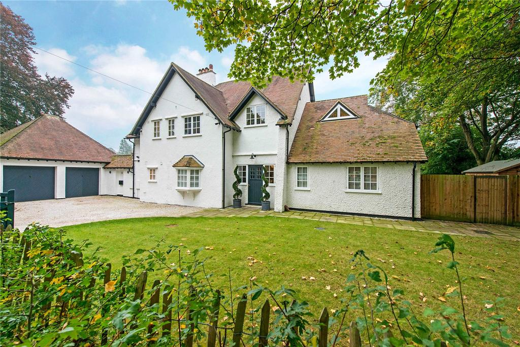 5 Bedrooms Detached House for sale in Sollershott West, Letchworth Garden City, Hertfordshire, SG6
