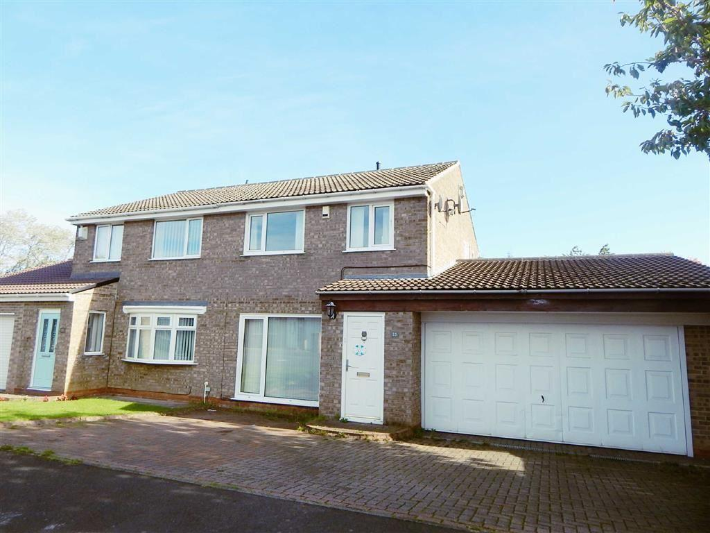 3 Bedrooms Semi Detached House for sale in Wharfedale, Hadrian Lodge, Wallsend, NE28