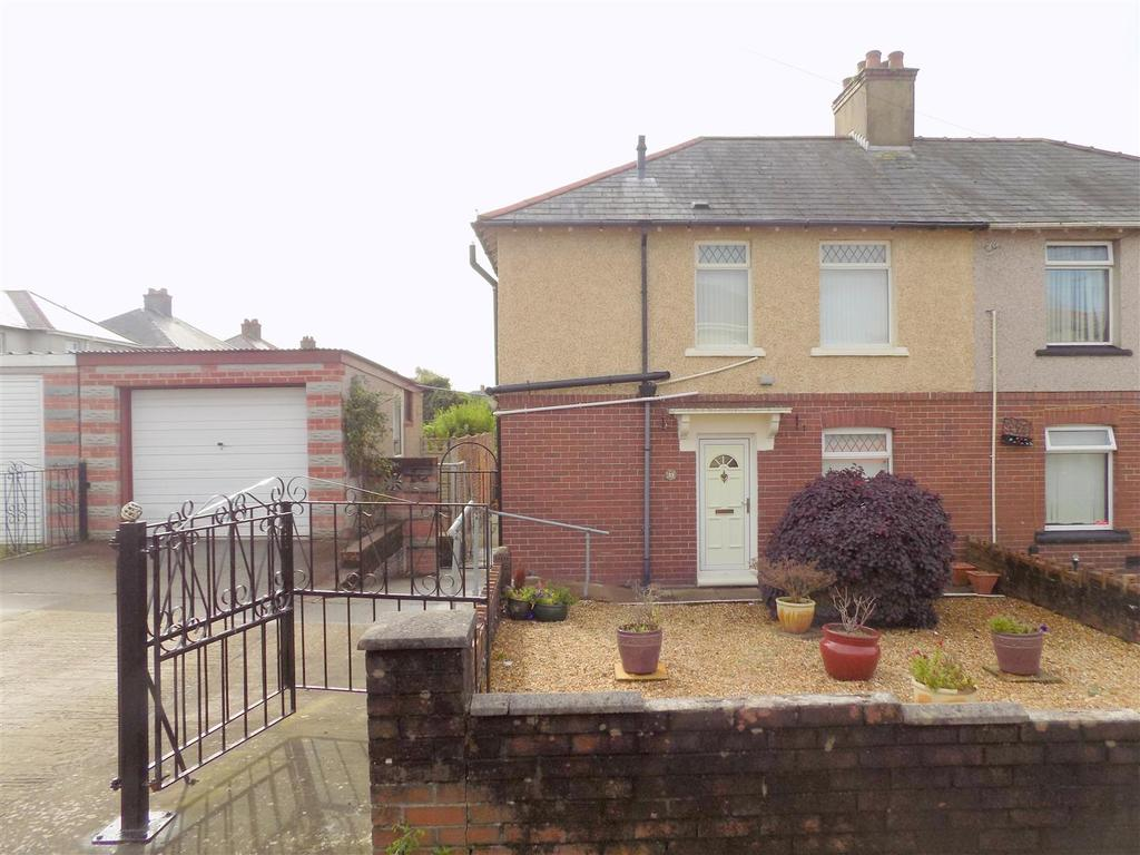 3 Bedrooms Semi Detached House for sale in Glanymor Street, Briton Ferry, Neath