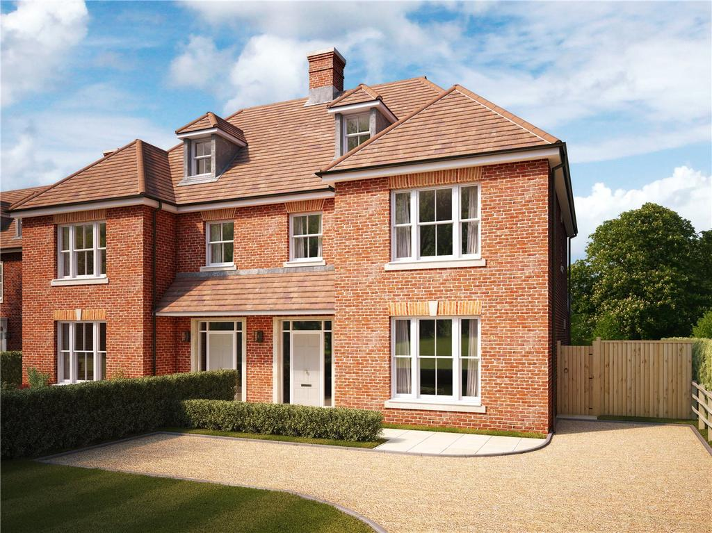 4 Bedrooms Semi Detached House for sale in Buchanan's Place, Deane Down Drove, Littleton, Winchester, SO22
