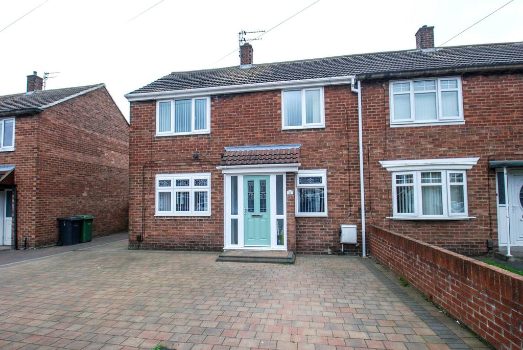 3 Bedrooms Semi Detached House for sale in Rodin Avenue, South Shields