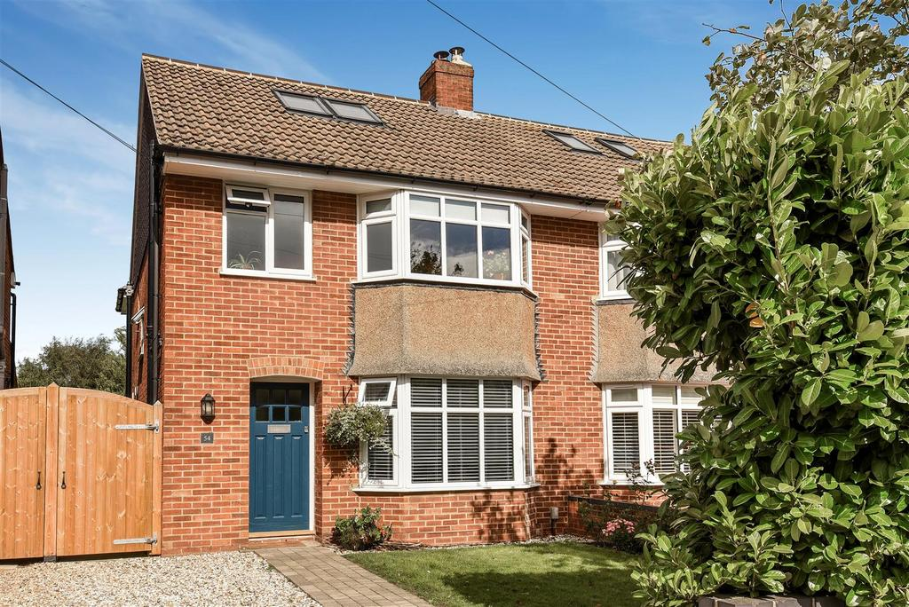 4 Bedrooms Semi Detached House for sale in St Leonards Road, Headington
