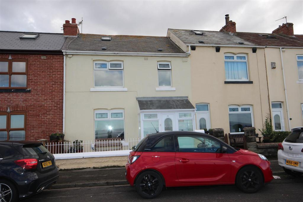 2 Bedrooms Terraced House for sale in Marine Drive, Headland, Hartlepool