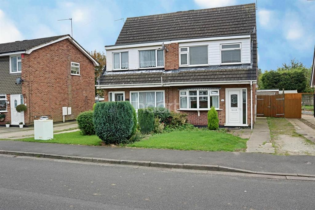 3 Bedrooms Semi Detached House for sale in Holbeck Road, Hucknall