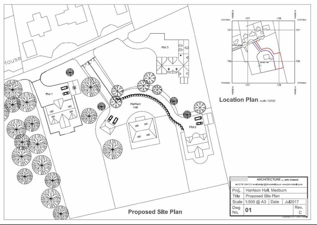 Land Commercial for sale in Harrison Hall, Medburn Newcastle Upon Tyne, Northumberland