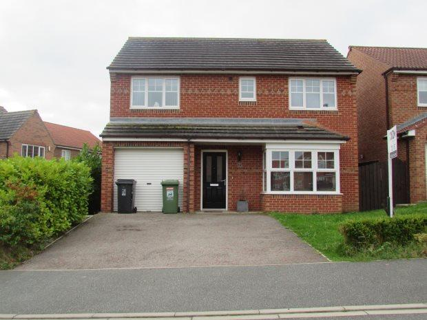 4 Bedrooms Detached House for sale in BLUEBELL WAY, BISHOP CUTHBERT, HARTLEPOOL