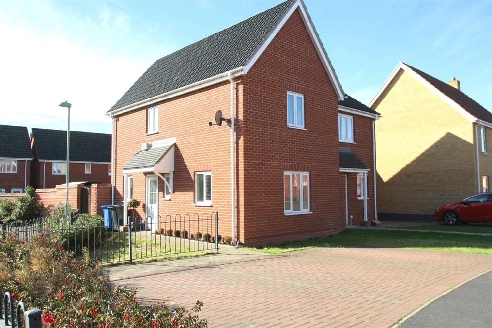 2 Bedrooms Semi Detached House for sale in Lower Reeve, Great Cornard, SUDBURY, Suffolk