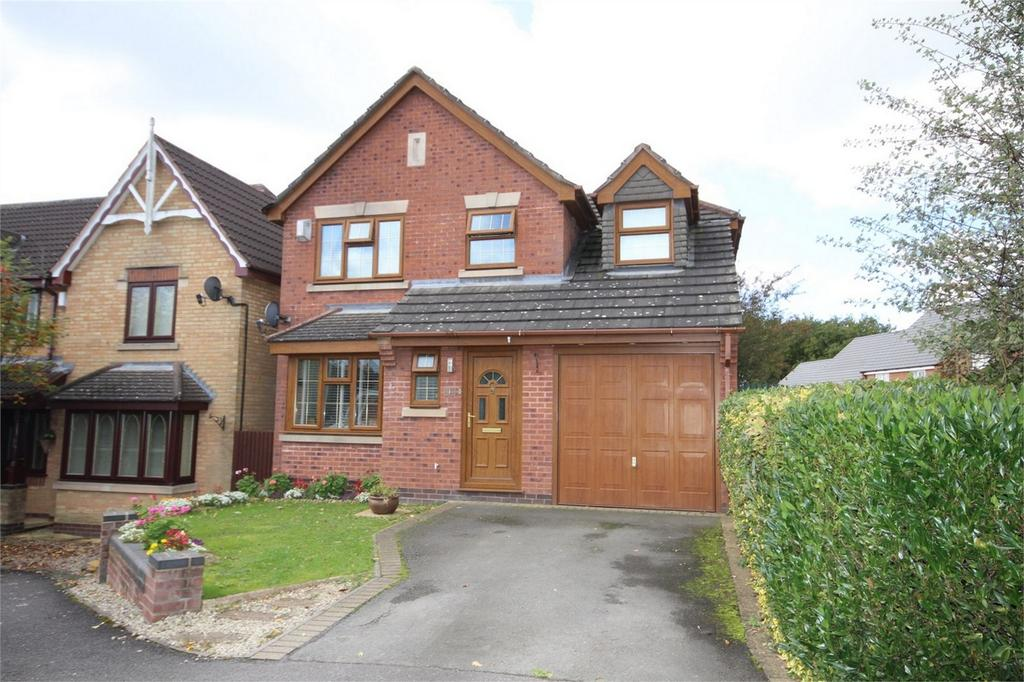4 Bedrooms Detached House for sale in Silverbirch Close, Hartshill, Nuneaton, Warwickshire