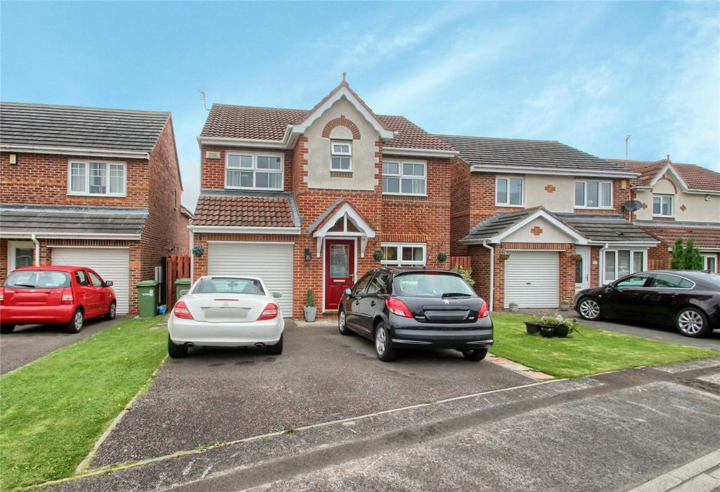 4 Bedrooms Detached House for sale in Melrose Drive, Low Hartburn