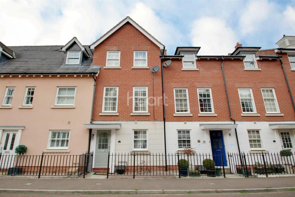 4 Bedrooms Terraced House for sale in Wivenhoe