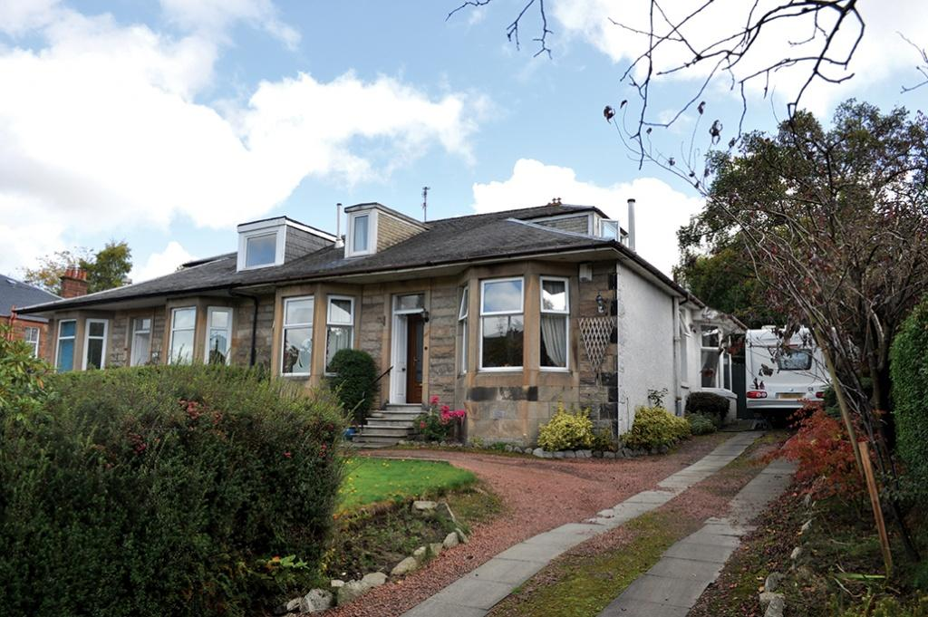 4 Bedrooms Semi Detached House for sale in 447 Kilmarnock Road, Newlands, G43 2RS
